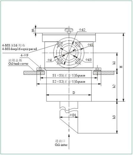 液压过滤器-nju系列箱外内积式吸油滤油器